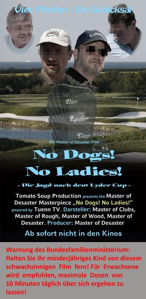 Filmplakat No Dogs No Ladies