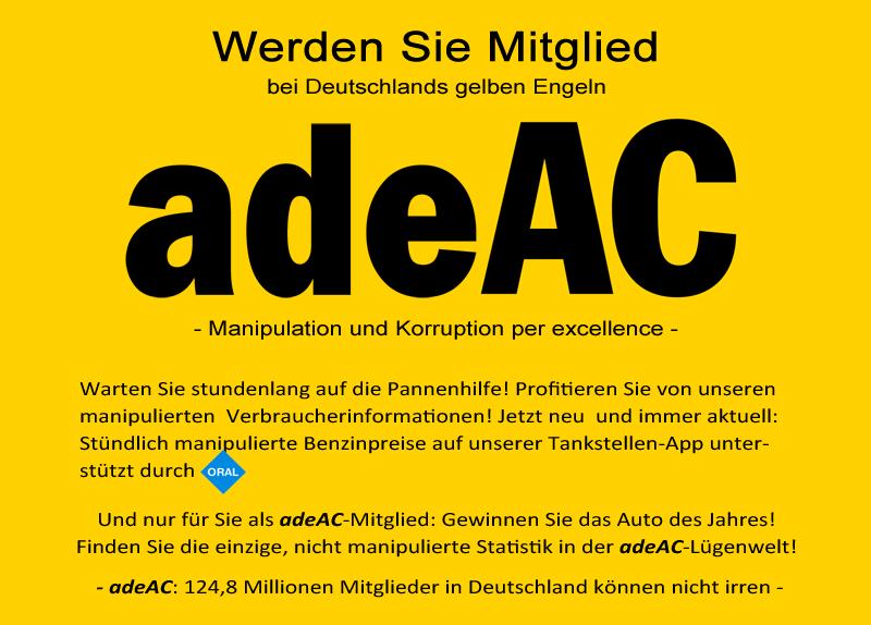 adeAC Mitgliedschaft